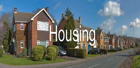 Photo of Houses for ESL Housing Lesson