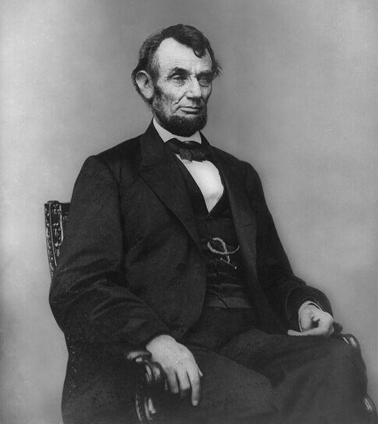 President Abraham Lincoln, February 1864