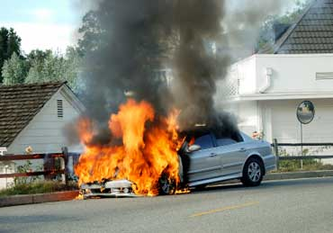 Automobile Fire