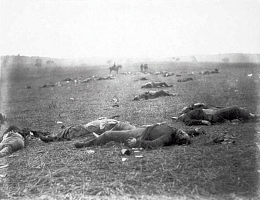Battle of Gettysburg, July 5 or 6, 1863