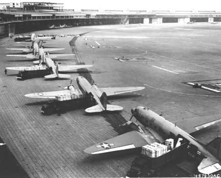 Planes Ready for Berlin Airlift