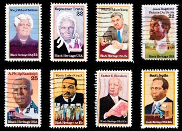 Black Heritage Stamps
