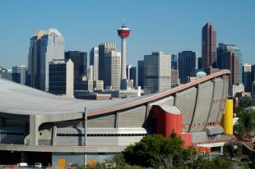 Saddledome in Calgary, Canada