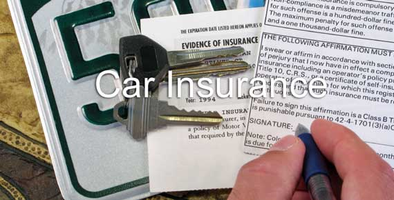 Auto Insurance Policy with Car Keys