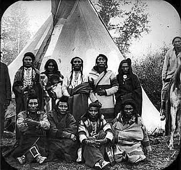 what indian tribe was at thanksgiving