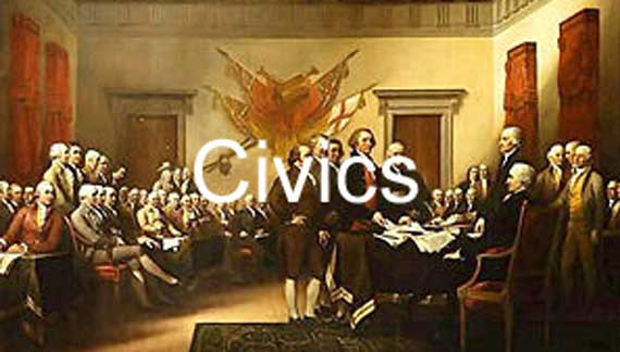 Civics Banner - Declaration of Independence