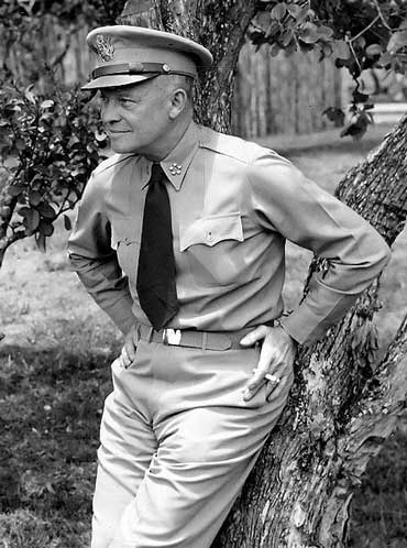 General Eisenhower, World War II