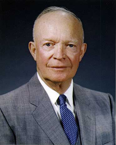 President Dwight D. Eisenhower, 1890-1969