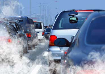 Air Pollution Caused by Car Exhaust