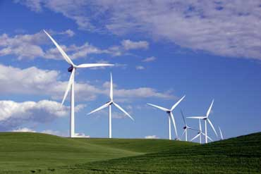 Windmills Collecting Energy