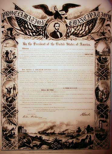 Emancipation Proclamation US Civics And History