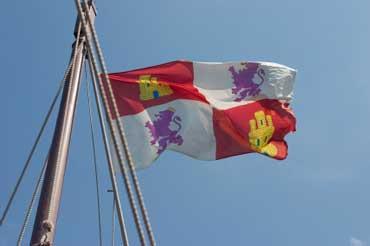Replica of the Flag on the Santa Maria