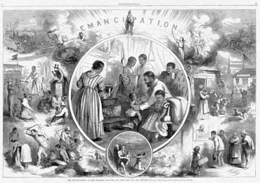 Freedmen Emancipation Drawing