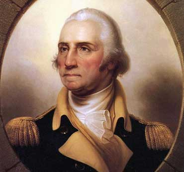 Portrait of George Washington, 1732-1799