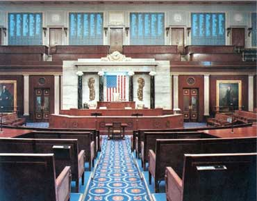 Inside U.S. House of Representatives