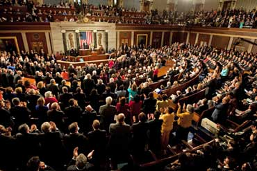 Good Inside U.S. House Of Representatives. Joint Session Of Congress   Both  Houses