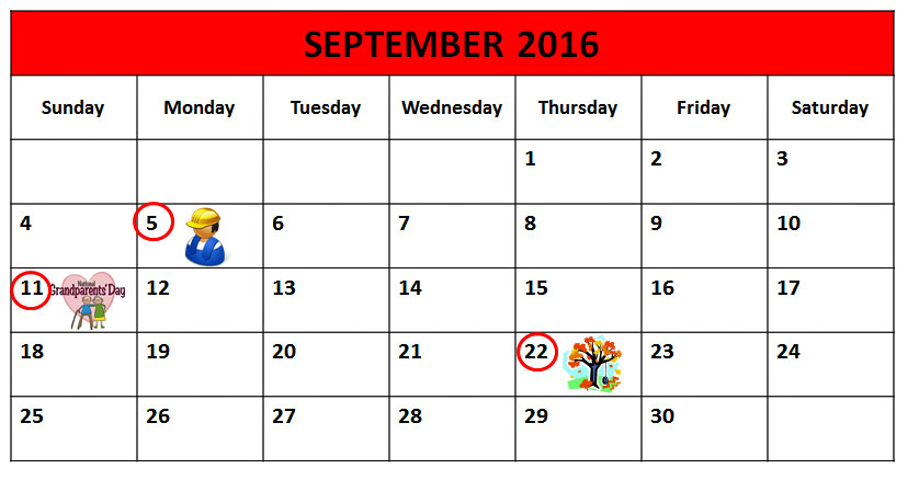 Calendar Labor Day : Labor day lesson for esl students