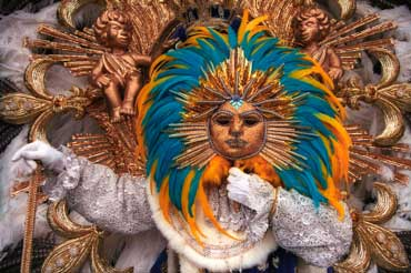 Fat Tuesday - Le Roi Soleil Costume