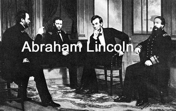 Abraham Lincoln with Civil War Advisors