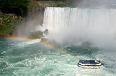Maid of the Mist Boat Tour of Niagara Falls