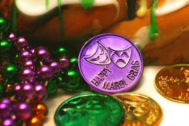 Mardi Gras Doubloons or Trinkets