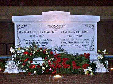 Gravesite of Dr. King and His Wife Coretta Scott King