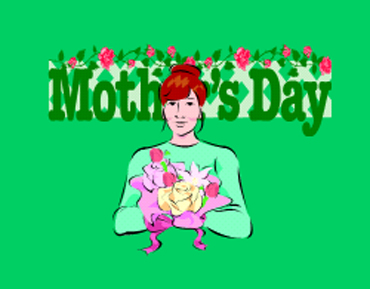 Mother's Day is on the second Sunday in May