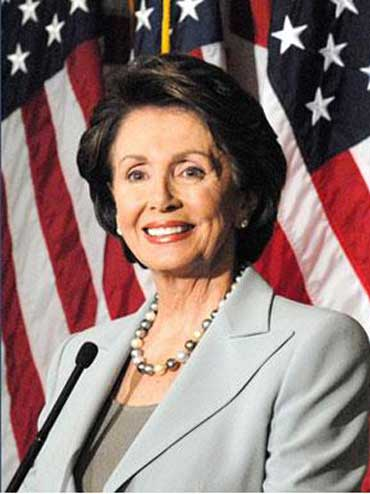 Nancy Pelosi - First Female Speaker of the U.S. House of Representatives