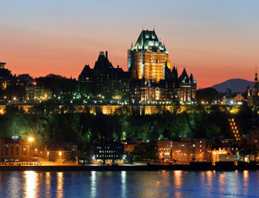 Quebec City, Canada - Frontenac Castle