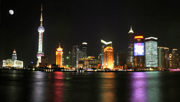 Shanghai, China - Huangpu River