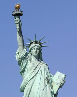 Statue of Liberty Upper Torso