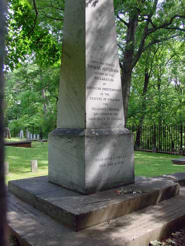 Thomas Jefferson's Grave