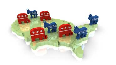 United States Political Parties - Two Party System