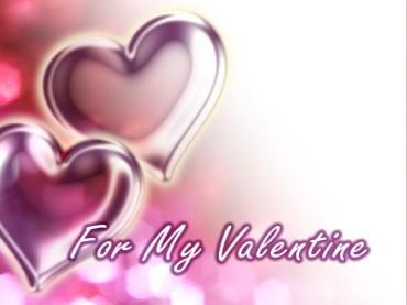 Valentine's Day Heart For My Valentine