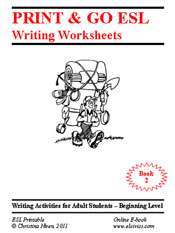Printables Esl Civics Worksheets free esl ebooks printable worksheets writing e book 2