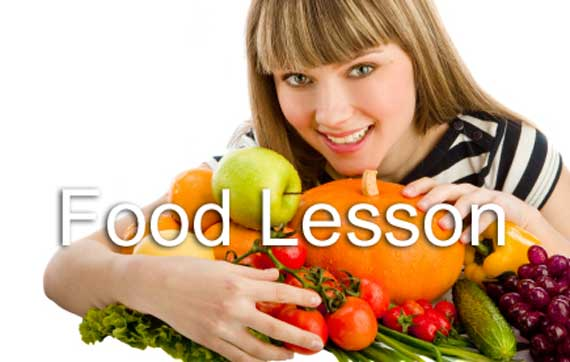 Food Lesson Banner