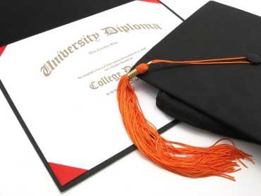 Diploma, Cap, and Tassel