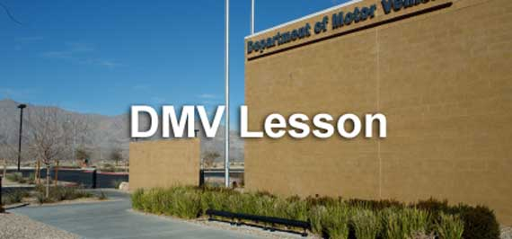 Department of Motor Vehicles or DMV