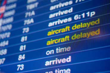 Flight Schedule with Cancellations