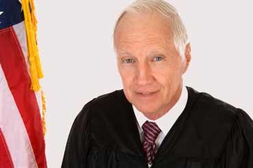 Judge Wearing a Black Robe
