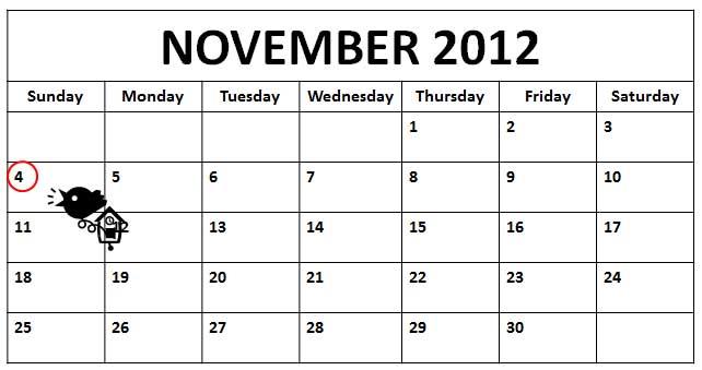 November Calendar 2012 : Index of lifeskills images