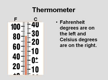 Temperature Thermometer