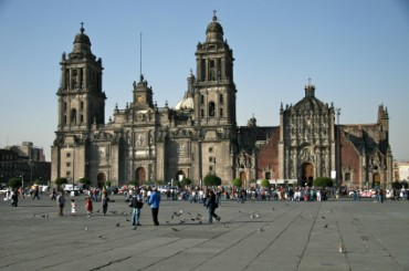 Metropolitan Cathedral in Mexico City