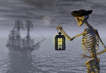 Ship and Skeleton