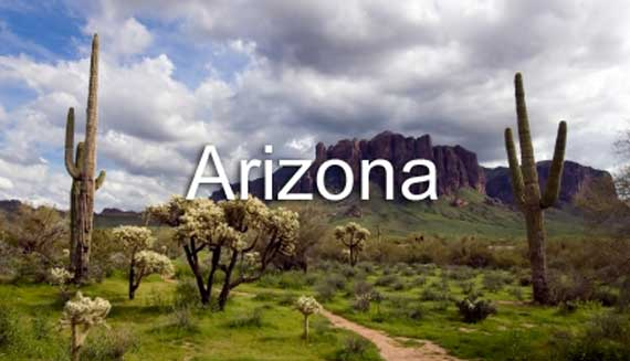 Arizona Lesson Banner