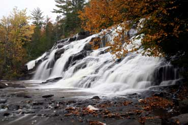 Bond Falls, Michigan - Forest and Water