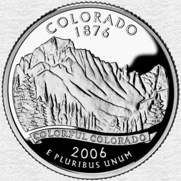 Colorado State Coin