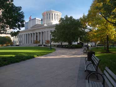 Columbus - Captial of Ohio - Capitol Building