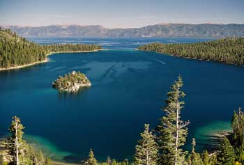 Emerald Bay in Lake Tahoe