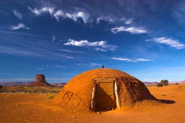 Hogan - Navajo Mud House